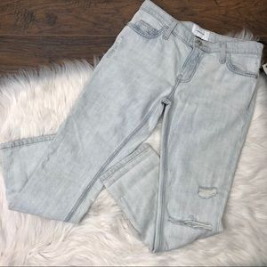 NWT Current/Elliott cropped straight